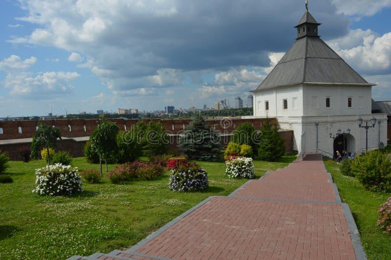 kazan kremlin стоковое изображение rf