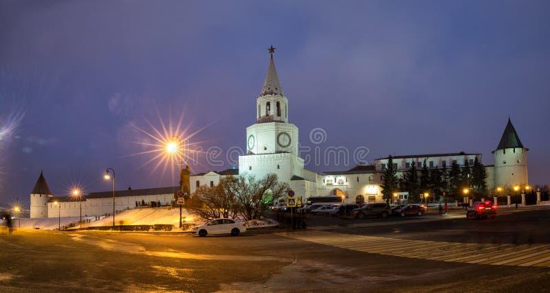 Kazan Kremlin imagens de stock