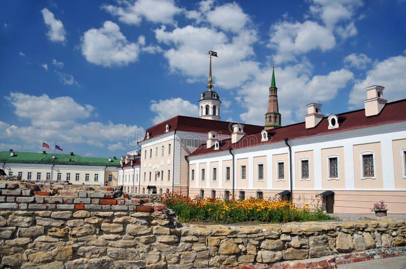 kazan kremlin стоковое изображение