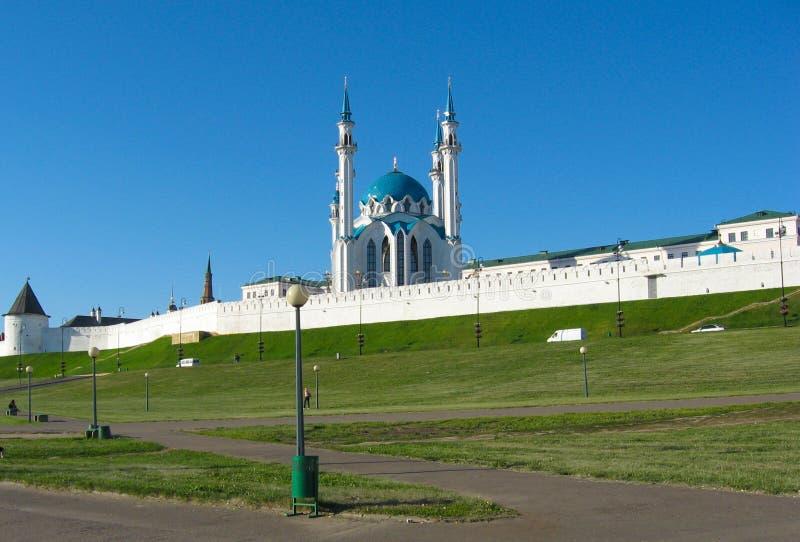 Kazan Kremlin fotografia stock libera da diritti