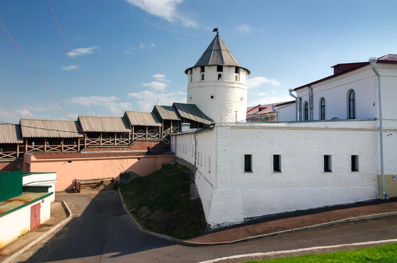 Kazan Kremlin complex of architectural monuments, Tatarstan Republic. Russia royalty free stock images