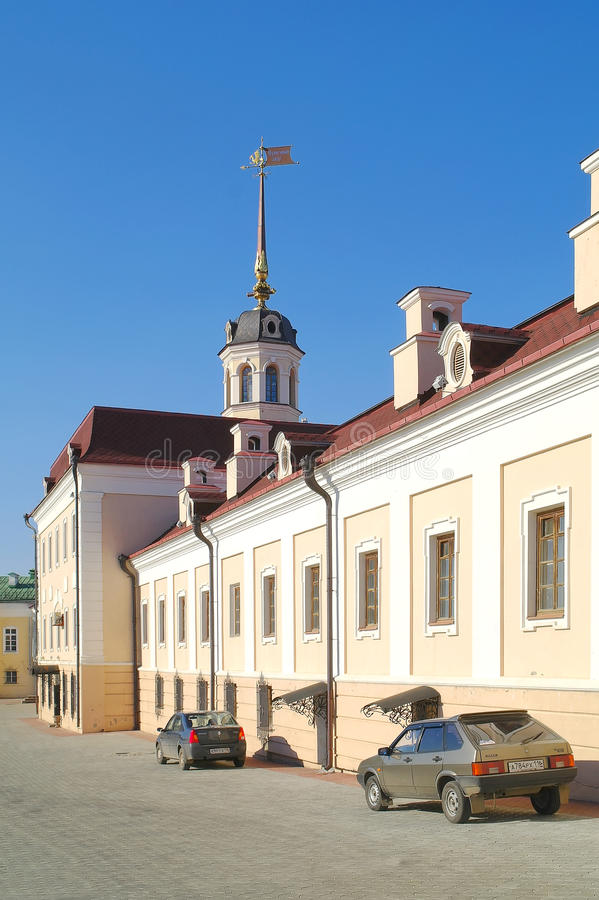 kazan kremlin kanongård royaltyfria foton