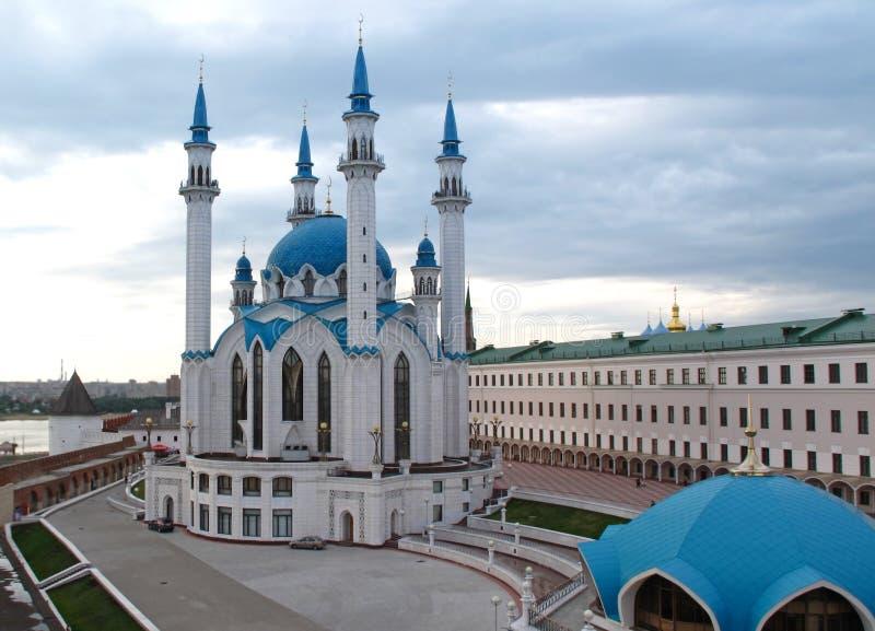 kazan Kremlin kul meczetowy stary sharif zdjęcia stock