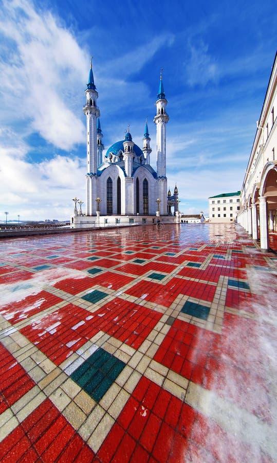 kazan Kremlin meczetu qolsharif obrazy royalty free