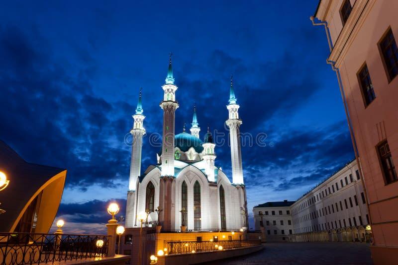 kazan Kremlin meczetu qolsharif zdjęcie stock