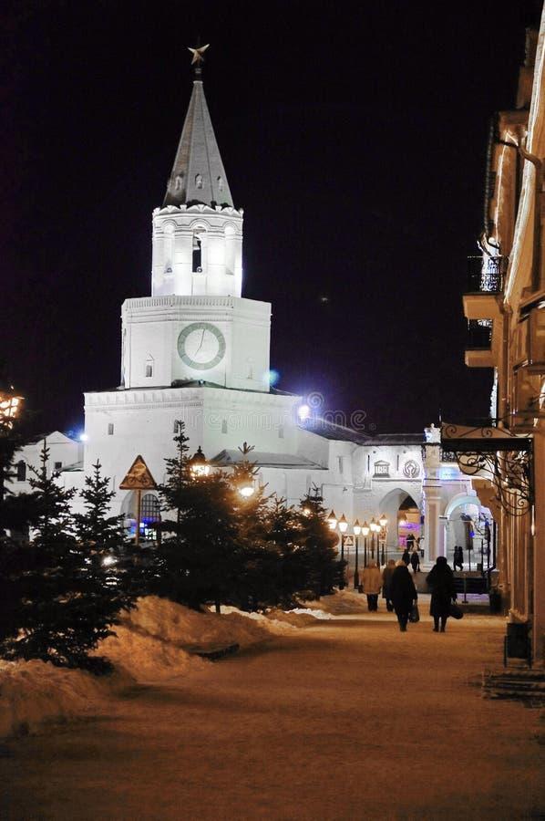 The Kazan Kremlin stock image