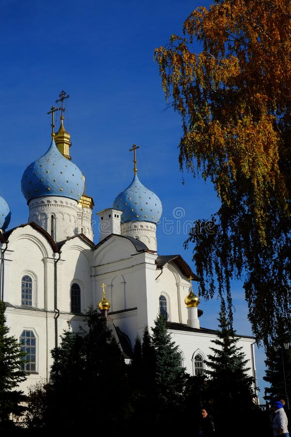 Kazan Kremlin, Kazan Rusia obraz royalty free