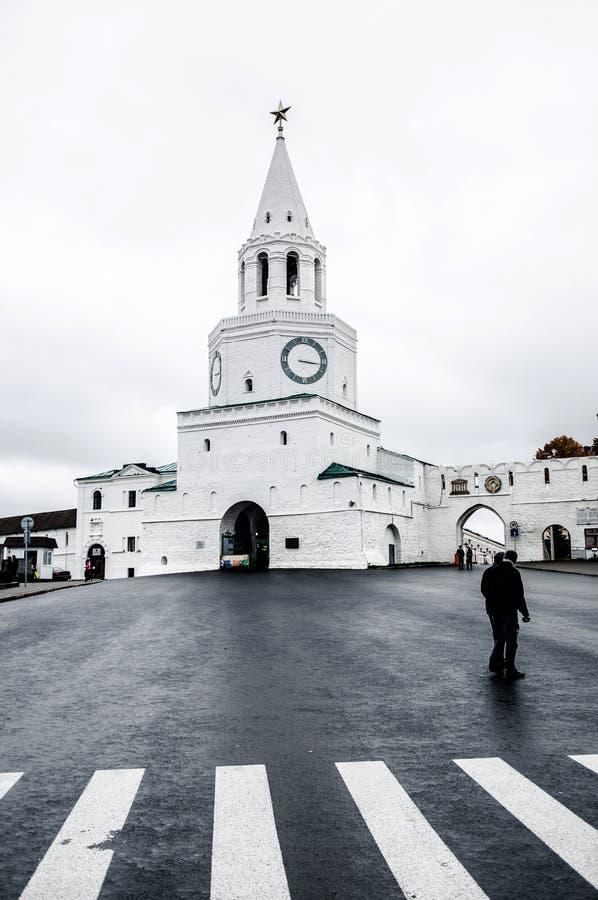 Kazan Kremlowska brama zdjęcie stock