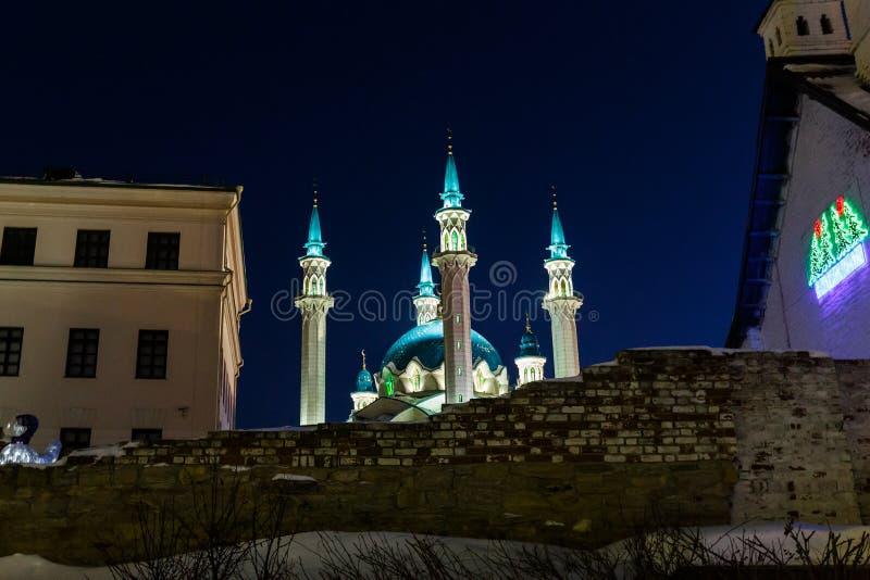 kazan kula meczetu sharif zdjęcia royalty free