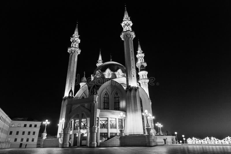 kazan kula meczetu sharif obrazy stock