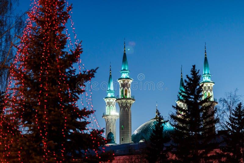 kazan kula meczetu sharif obraz royalty free