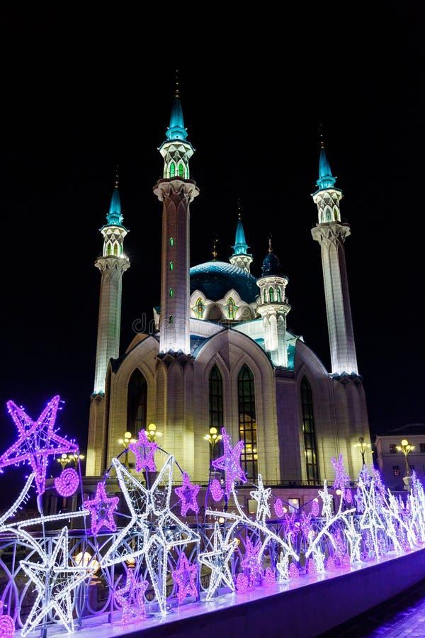 kazan kula meczetu sharif zdjęcia stock