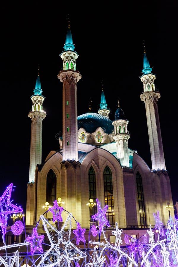 kazan kula meczetu sharif zdjęcie royalty free