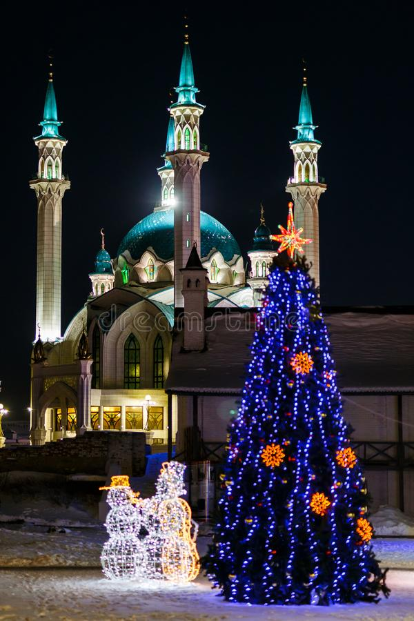 kazan kula meczetu sharif fotografia royalty free