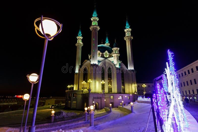 Kazan, mesquita de Kul Sharif foto de stock royalty free