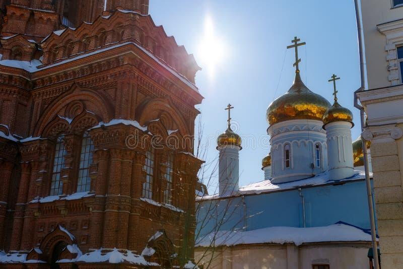 Kazan miasto, Rosja obraz stock