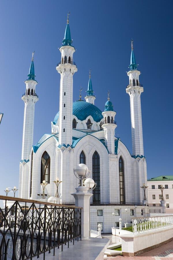 kazan minaretowy meczetowy qolsharif zdjęcie royalty free