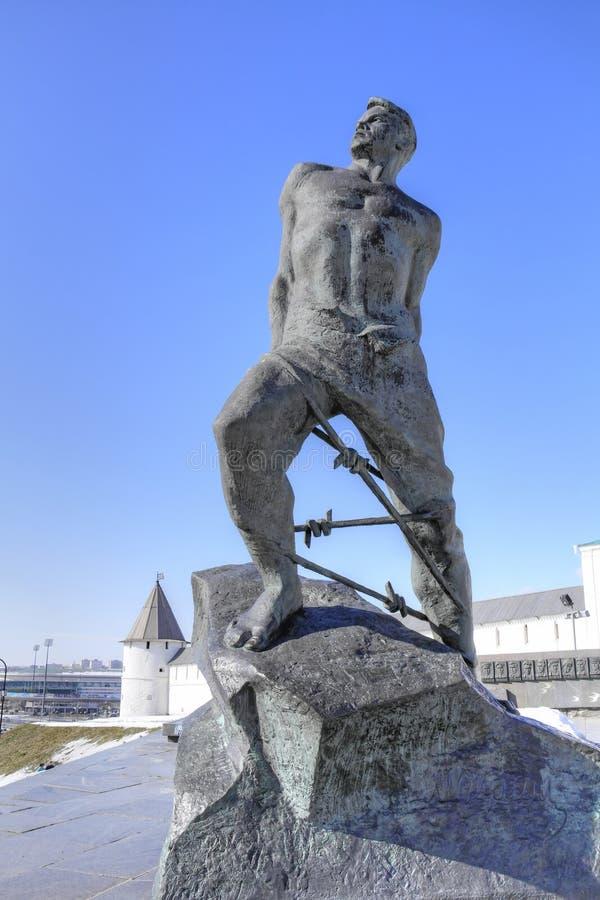 kazan Monument Musa Jalil photo stock