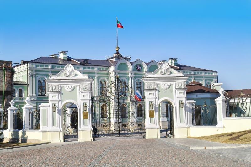 kazan Prezydencki pałac republika Tatarstan zdjęcie royalty free