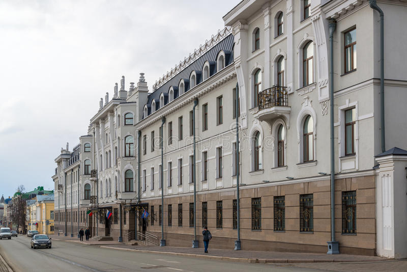 Kazan, Russia - Mar 27.2017. Department of Internal Affairs of Republic of Tatarstan. Kazan, Russia - Mar 27.2017. The Department of Internal Affairs of the stock photo