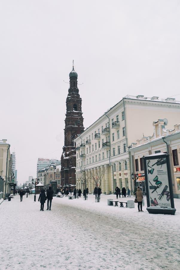 Kazan ulica zdjęcie royalty free