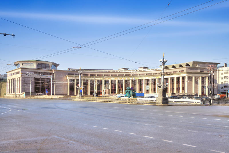 Kazan (Volga region) federalt universitet royaltyfri bild