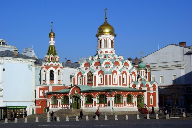 kazansky的大教堂 免版税库存图片