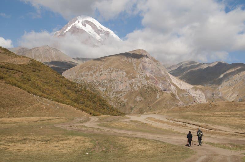 Kazbek em Geórgia imagem de stock royalty free