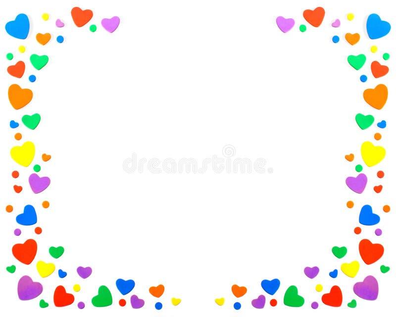 Kazillions des coeurs image stock