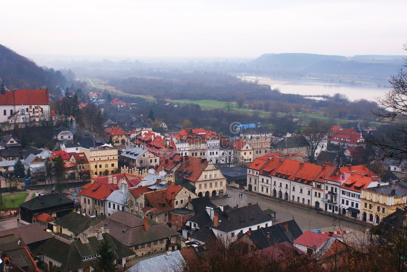 Kazimierz Dolny royalty-vrije stock afbeeldingen
