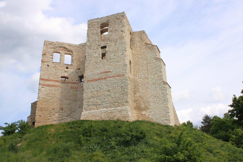 Download Kazimierz Dolny Da Tne Il Vistola (Polonia) - Le Rovine Del Castello Fotografia Stock - Immagine di costruzione, corsa: 55362478