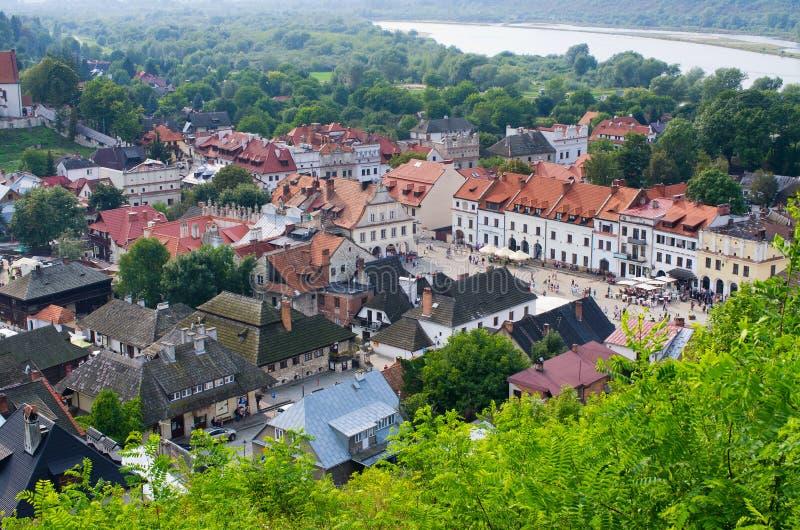 Kazimierz Dolny, Polonia imagen de archivo libre de regalías