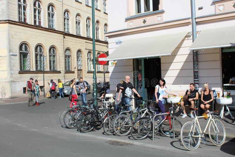 Kazimierz, Krakow zdjęcie royalty free