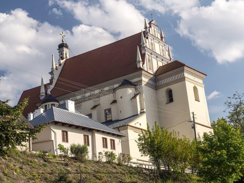 Kazimierz Parish Church Fara royalty-vrije stock afbeelding