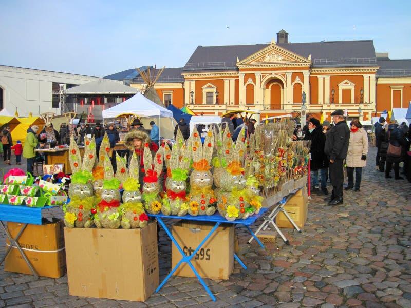 Kaziukas Fair in Klaipeda town, Lithuania royalty free stock image