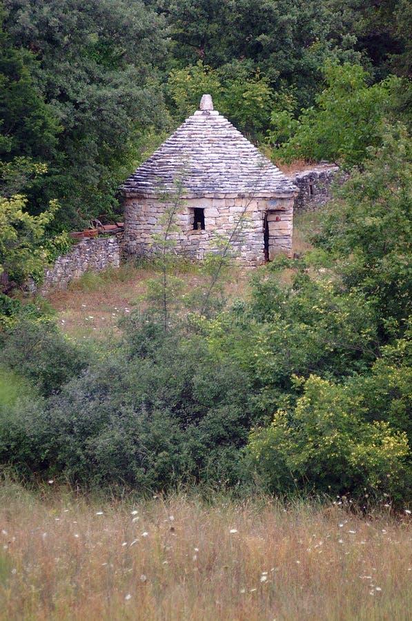 Kazun - piccola casa di pietra fotografie stock libere da diritti