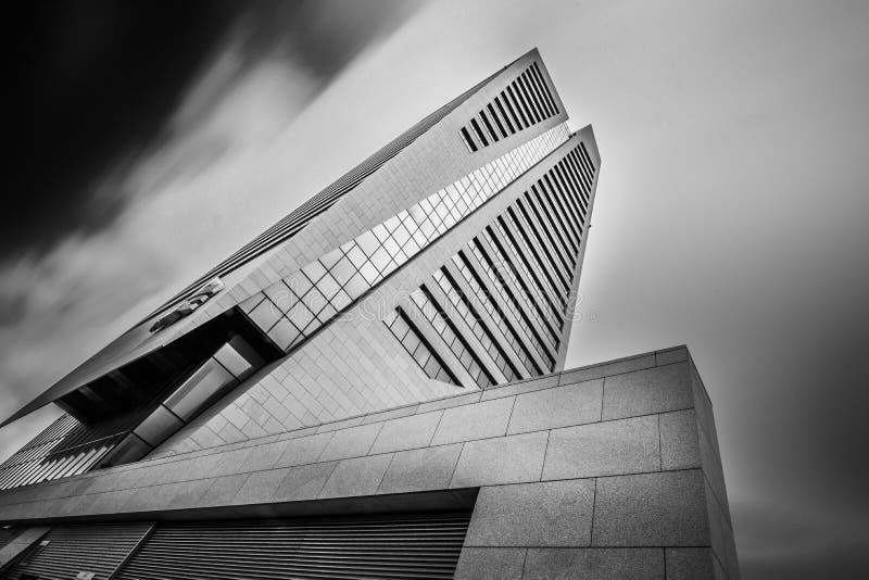 Kbctoren in Gent België stock fotografie