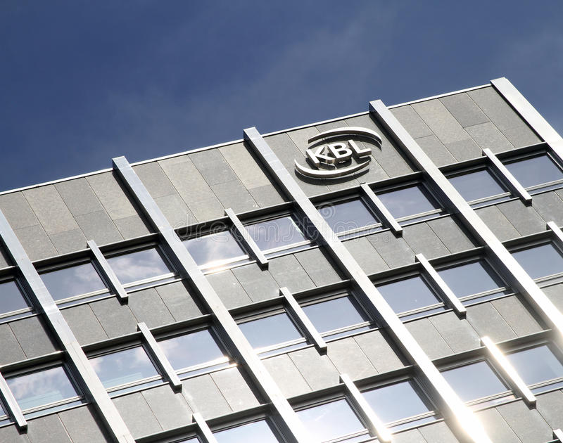 KBL Private Bankers logo royalty free stock photography