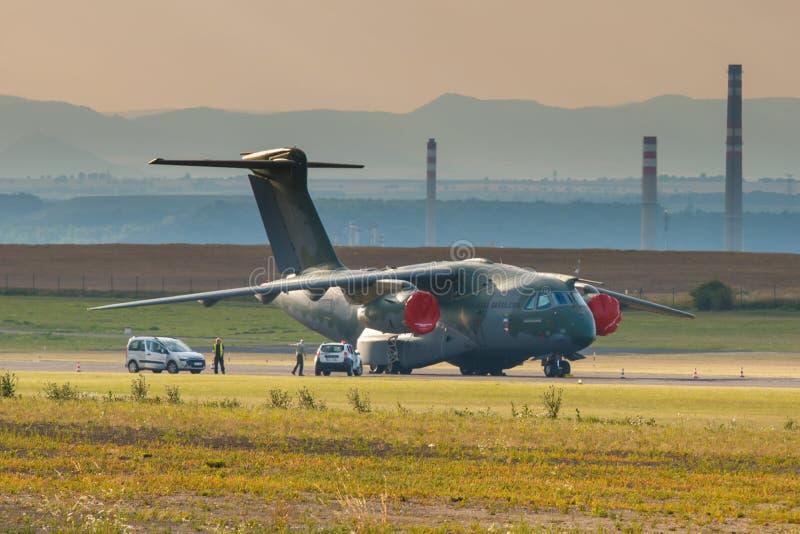 KC-390 стоковое изображение