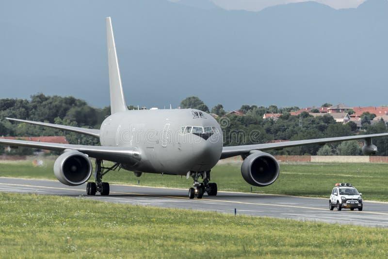KC767A Aeronautica Militare MM62229 免版税图库摄影