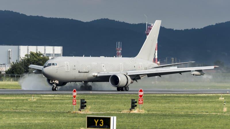 KC767A Aeronautica Militare MM62229 fotografía de archivo libre de regalías