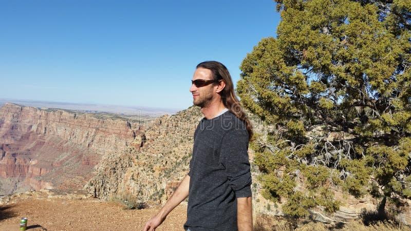 KC nel canyon immagine stock