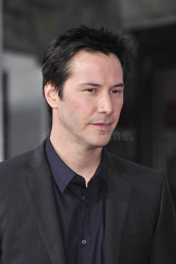 Keanu Reeves immagine stock