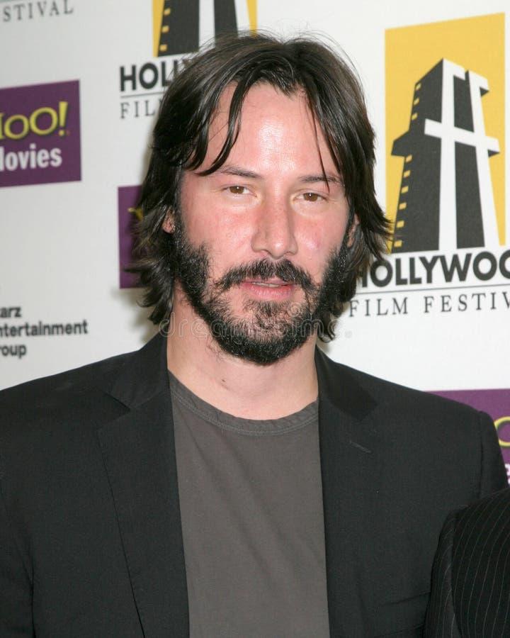 Keanu Reeves. Hollywood Film Festival Gala Beverly Hilton Hotel Los Angeles, CA October 24, 2005 royalty free stock photos