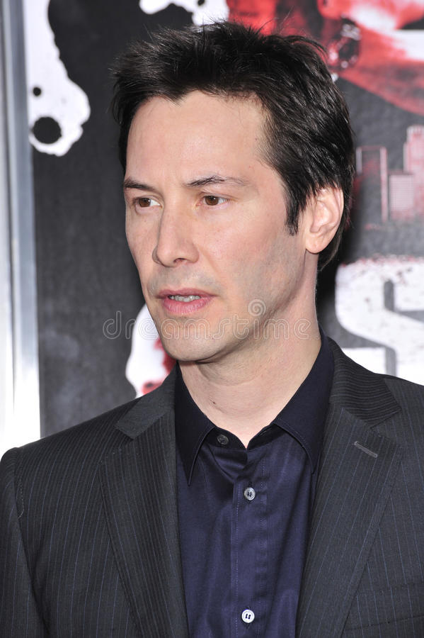 Keanu Reeves. At the Los Angeles premiere of his new movie 'Street Kings' at Grauman's Chinese Theatre, Hollywood. April 3, 2008 Los Angeles, CA Picture: Paul stock images
