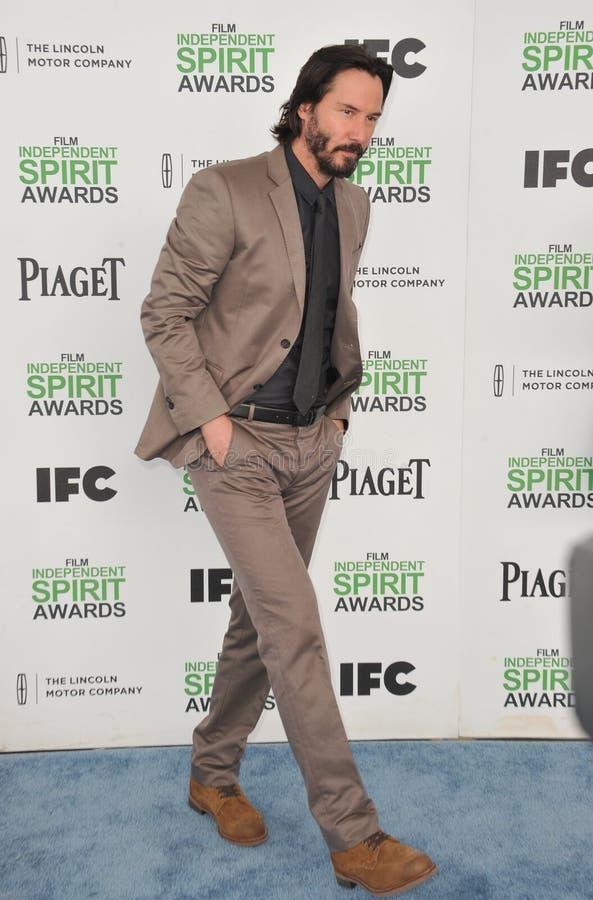 Keanu Reeves fotografia stock