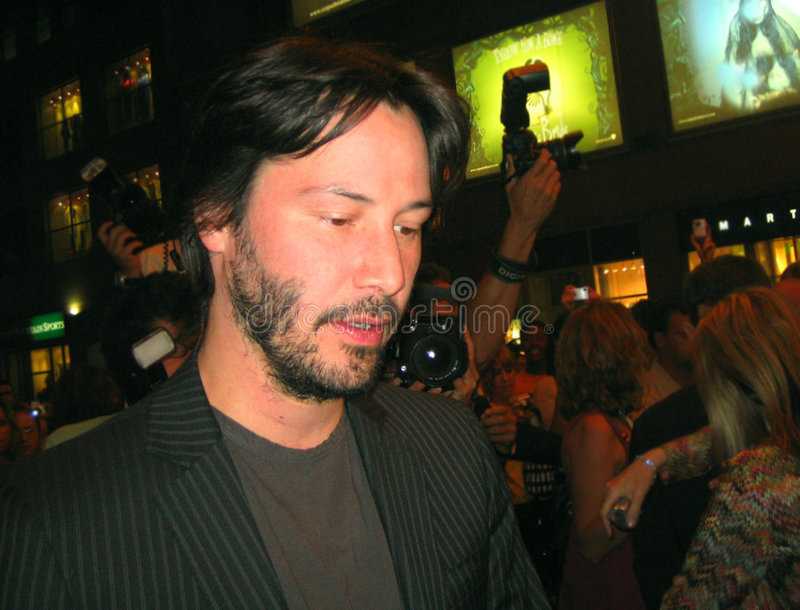 Keanu Reeves fotografia de stock royalty free