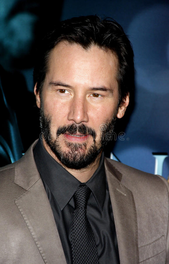 Keanu Reeves immagine stock