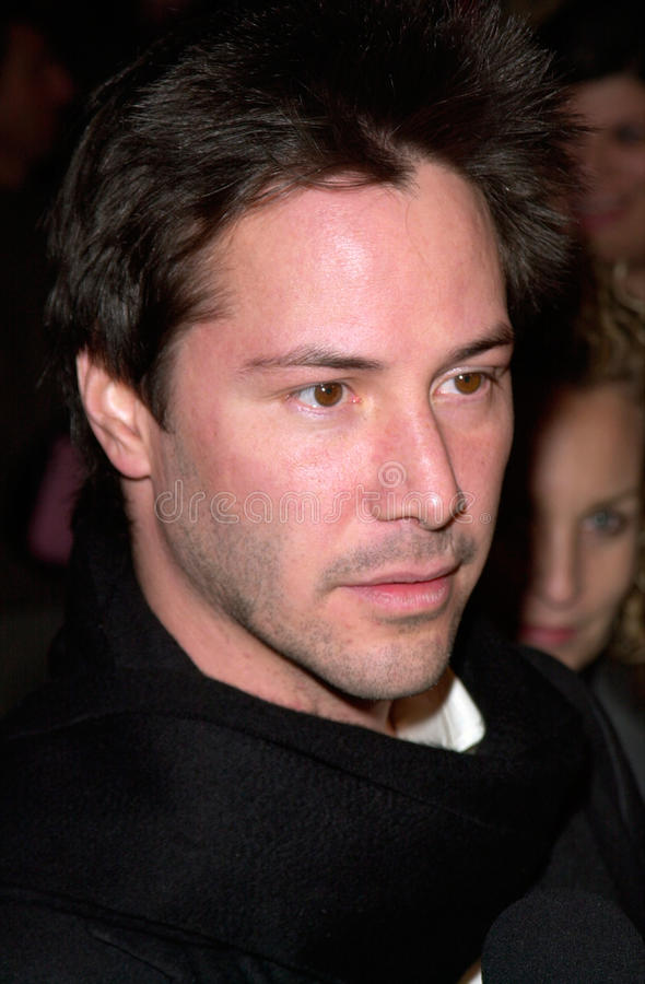 Keanu Reeves. Actor KEANU REEVES at the Los Angeles premiere of his new movie The Gift. 18DEC2000. Paul Smith / Featureflash royalty free stock photos