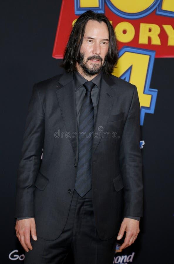 Keanu Reeves fotografie stock libere da diritti